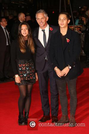 Gary Lineker, George Lineker and Ella - 'Shots from the red carpet ahead of the world premiere of the latest...
