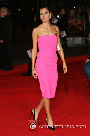 Linzi Stoppard - 'Shots from the red carpet ahead of the world premiere of the latest film in the Hunger...