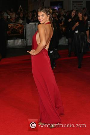 Amy Willerton - World premiere of 'The Hunger Games: Mockingjay - Part 1' - Arrivals - London, United Kingdom -...