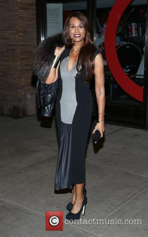 Beverly Johnson - Shots of a variety of stars as they arrived outside the Glamour Women of The Year Awards...