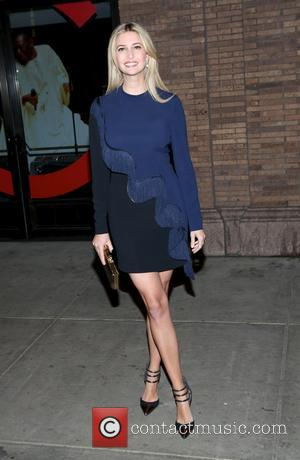 Ivanka Trump - Shots of a variety of stars as they arrived outside the Glamour Women of The Year Awards...