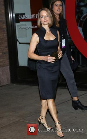 Jodie Foster - Shots of a variety of stars as they arrived outside the Glamour Women of The Year Awards...