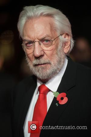 Donald Sutherland - 'The Hunger Games: Mockingjay, Part 1' world premiere held at the Odeon Leicester Square - Arrivals at...