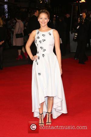 Jennifer Lawrence - The Hunger Games: Mockingjay Part 1 World Premiere - Arrivals - London, United Kingdom - Monday 10th...