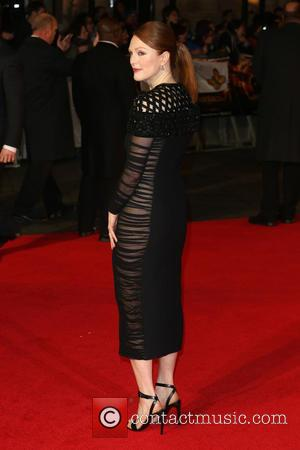 Julianne Moore - The Hunger Games: Mockingjay Part 1 World Premiere - Arrivals - London, United Kingdom - Monday 10th...