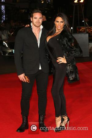 Katie Price and Kieran Hayler - The Hunger Games: Mockingjay Part 1 World Premiere - Arrivals - London, United Kingdom...