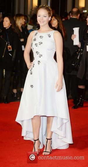 Jennifer Lawrence - 'Shots from the red carpet ahead of the world premiere of the latest film in the Hunger...