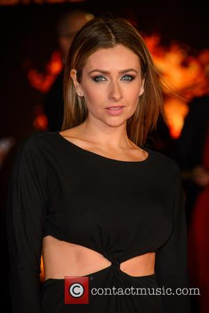 Gemma Merna - Shots from the red carpet ahead of the world premiere of the latest film in the Hunger...