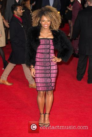 Fleur East - Shots from the red carpet ahead of the world premiere of the latest film in the Hunger...
