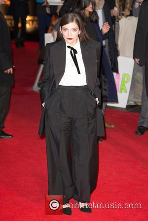 Lorde - Shots from the red carpet ahead of the world premiere of the latest film in the Hunger Games...
