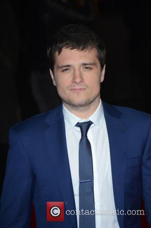 JOSH HUTCHERSON - Shots from the red carpet ahead of the world premiere of the latest film in the Hunger...