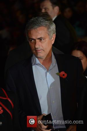 JOSE MOURINHO - Shots from the red carpet ahead of the world premiere of the latest film in the Hunger...