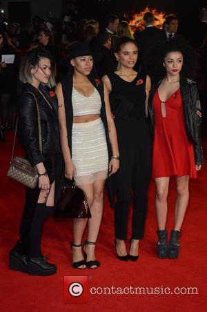 NEON JUNGLE - Shots from the red carpet ahead of the world premiere of the latest film in the Hunger...