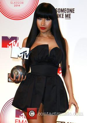 Nicki Minaj - MTV EMA Awards 2014 held at the The Hydro - Press Room - London, United Kingdom -...