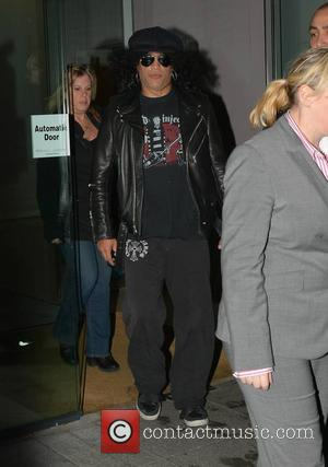 Slash - Slash featuring Myles Kennedy & The Conspirators play 3 Arena tonight, seen leaving The Morrison Hotel and meeting...
