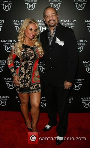 Ice-T and Coco - Photographs of a variety of stars as they arrived at the Grand Opening of Mastro's Steakhouse...