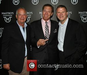 Mark Levy, Joe Piscopo and Tilman J. Fertitta