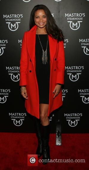 Rochelle Aytes - Photographs of a variety of stars as they arrived at the Grand Opening of Mastro's Steakhouse restaurant...