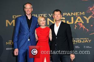 Kalle Friz, Elizabeth Banks and Rodolphe Buet