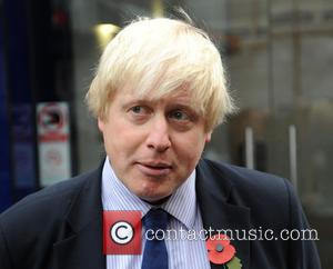 Boris Johnson - Boris Johnson talks to the media at Global House in Leicester Square - London, United Kingdom -...