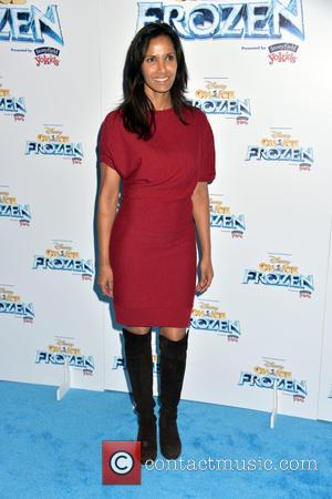 Padma Lakshmi - Disney On Ice presents 'Frozen' at The Barclay's Center in Brooklyn - Arrivals at Barclays Center, Disney...