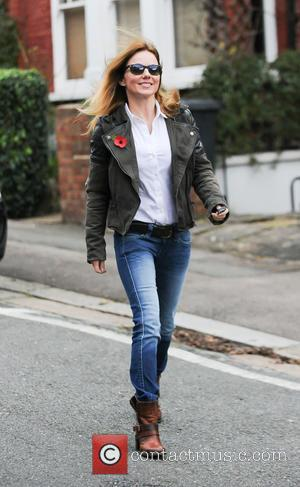 Geri Halliwell - Geri Halliwell out and about in London - London, United Kingdom - Tuesday 11th November 2014