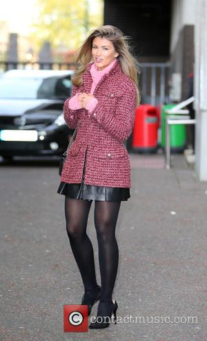 Amy Willerton - Amy Willerton outside the ITV studios - London, United Kingdom - Tuesday 11th November 2014