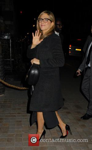 Jennifer Aniston - The cast of 'Horrible Bosses 2' at Chiltern Firehouse - London, United Kingdom - Wednesday 12th November...