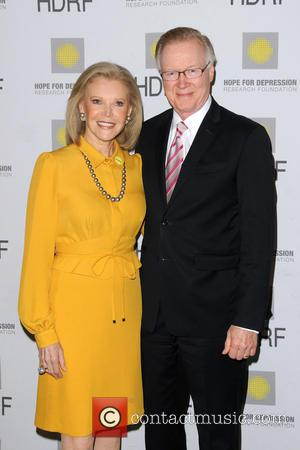 Audrey Gruss and Chuck Scarborough