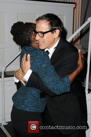 Chirlane McCray and David O. Russell