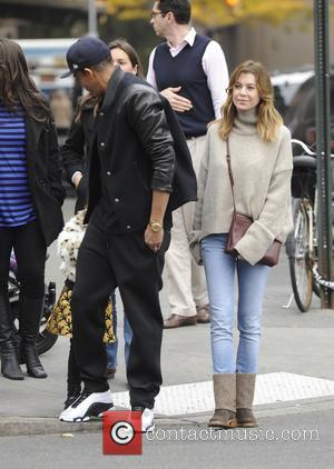 Ellen Pompeo, Chris Ivery and Stella Pompeo Ivery