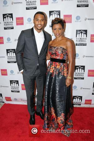 Trey Songz and April Tucker