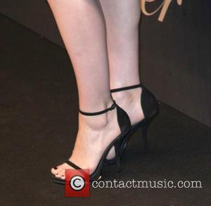 Rooney Mara shoe detail - Snaps of a variety of stars as they arrived at the Maison Cartier 100th anniversary...