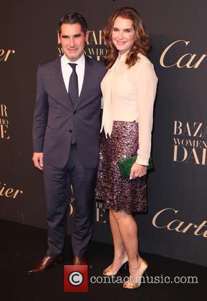Hugues De Pins and Brooke Shields