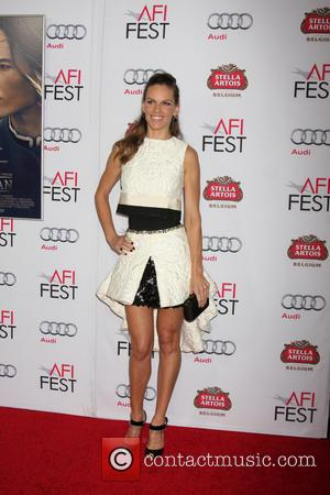 Hilary Swank - Photographs from the American Film Institute Film Festival and a screening of 'The Homesman' in Los Angeles,...