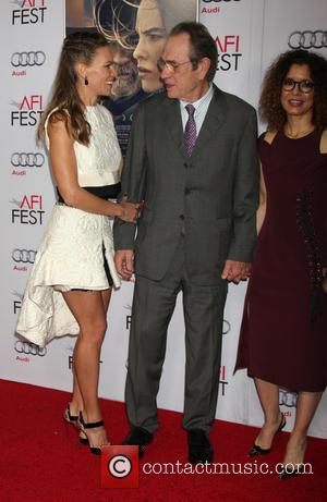Hilary Swank and Tommy Lee Jones