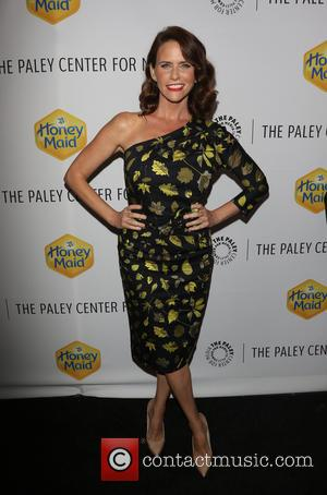 Amy Landecker - A variety of celebrities were photographed as they arrived at the Paley Center which was the venue...