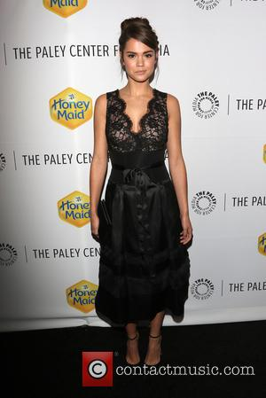 Maia Mitchell - A variety of celebrities were photographed as they arrived at the Paley Center which was the venue...