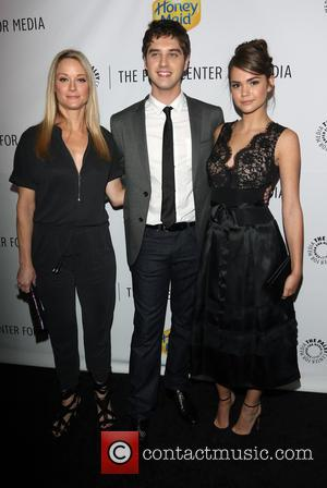 Teri Polo, David Lambert and Maia Mitchell - A variety of celebrities were photographed as they arrived at the Paley...