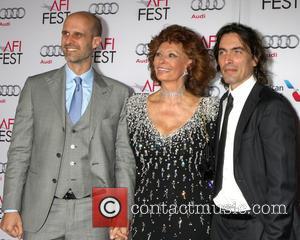 Edoardo Ponti, Sophia Loren and Carlo Ponti