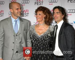 Edoardo Ponti, Sophia Loren and Carlo Ponti - A variety of stars attended an event to pay tribute to Italian...