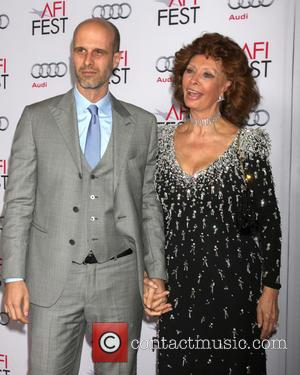 Edoardo Ponti and Sophia Loren