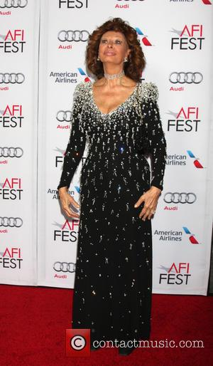 Sophia Loren - A variety of stars attended an event to pay tribute to Italian film star Sophia Loren at...