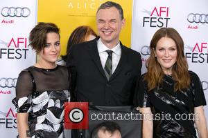Kristen Stewart, Wash Westmoreland and Julianne Moore