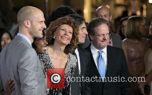 Edoardo Ponti, Sophia Loren and Guest