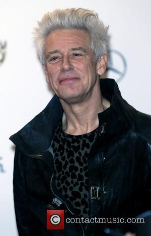 Adam Clayton and U2 - Snaps from the red carpet as an array of stars attended the 2014 Bambi Awards...