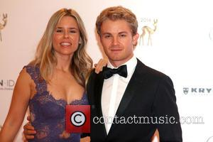 Nico Rosberg and Vivan Sibold
