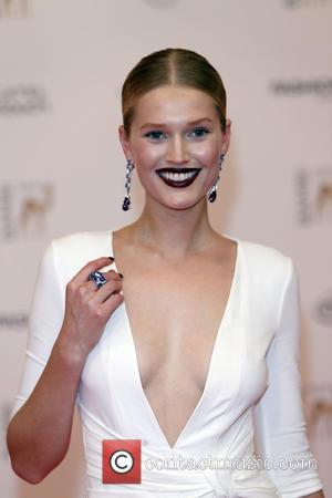 Toni Garrn - Snaps from the red carpet as an array of stars attended the 2014 Bambi Awards which recognise...