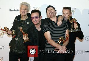 Adam Clayton, Bono, The Edge, Larry Mullen junior and U2