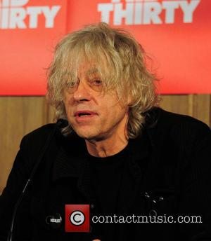 Sir Bob Geldof - Band Aid Thirty - Press conference at the Soho House in Berlin at SOHO House -...